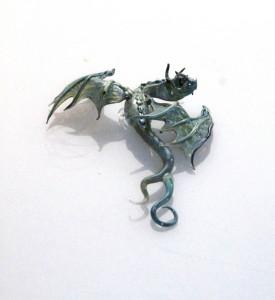 Baby Blue Wall Dragon