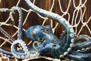 Large Blue Octopus 1