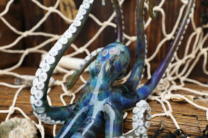 Large Blue Octopus 3